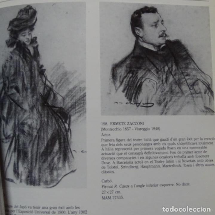 Libros de segunda mano: Libro Ramon casas.retrats al carbó.ajuntament de barcelona.1982.punto libro. - Foto 2 - 187465773