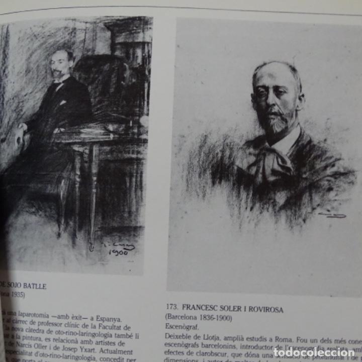 Libros de segunda mano: Libro Ramon casas.retrats al carbó.ajuntament de barcelona.1982.punto libro. - Foto 3 - 187465773