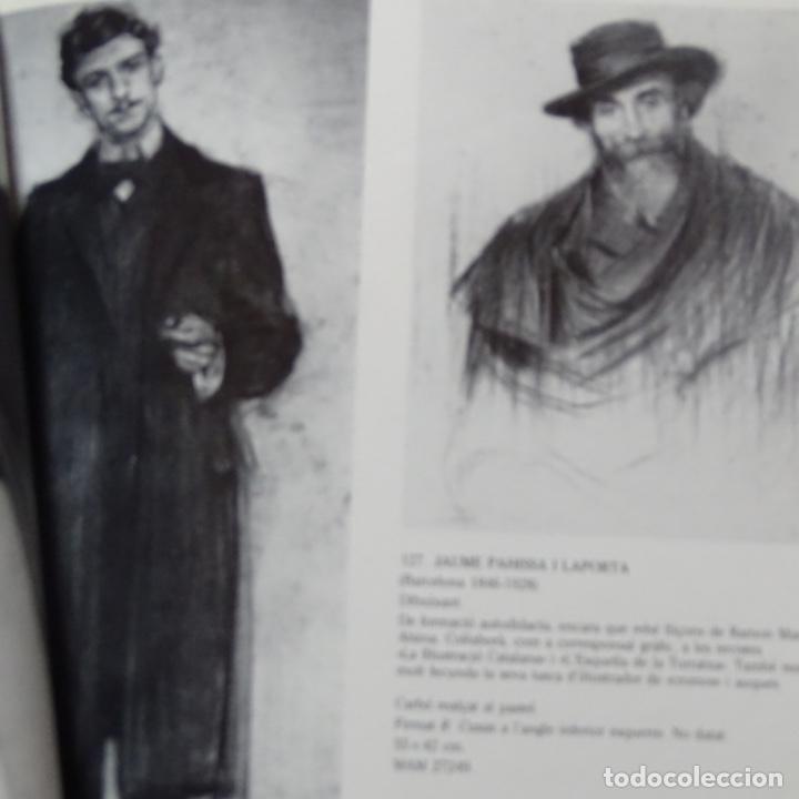 Libros de segunda mano: Libro Ramon casas.retrats al carbó.ajuntament de barcelona.1982.punto libro. - Foto 5 - 187465773