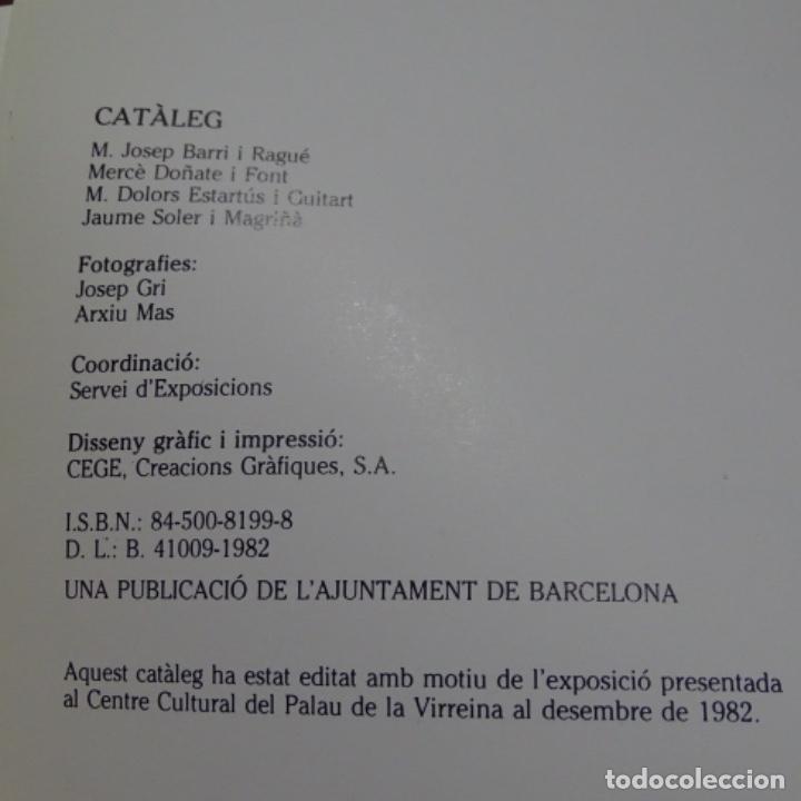 Libros de segunda mano: Libro Ramon casas.retrats al carbó.ajuntament de barcelona.1982.punto libro. - Foto 7 - 187465773