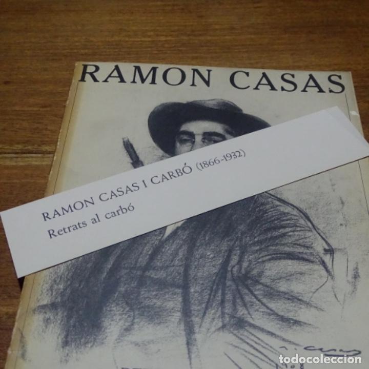 Libros de segunda mano: Libro Ramon casas.retrats al carbó.ajuntament de barcelona.1982.punto libro. - Foto 8 - 187465773