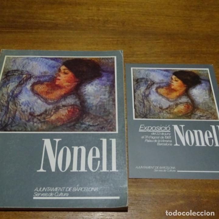 LIBRO Y FOLLETO DE ISIDRE NONELL.AJUNTAMENT DE BARCELONA.1981. (Libros de Segunda Mano - Bellas artes, ocio y coleccionismo - Pintura)