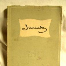Libros de segunda mano: JUNCEDA AÑO 52, FOMENTO DE LAS ARTES DECORATIVAS, LIBRO HOMENAJE AL DIBUJANTE 225 PAG. Lote 188717972