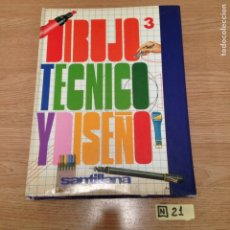 Libros de segunda mano: DIBUJO TÉCNICO Y DISEÑO. Lote 189185617