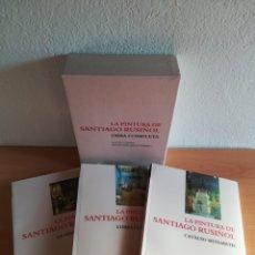 Libros de segunda mano: LA PINTURA DE SANTIAGO RUSIÑOL OBRA COMPLETA - VIDA OBRA CRÍTICA CATÀLEG SISTEMÀTIC. Lote 189519840