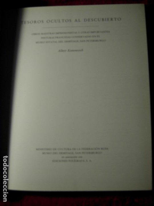 Libros de segunda mano: TESOROS OCULTOS AL DESCUBIERTO.OBRAS MAESTRAS CONSERVADAS EN EL MUSEO DEL ERMITAGE - Foto 3 - 190039670