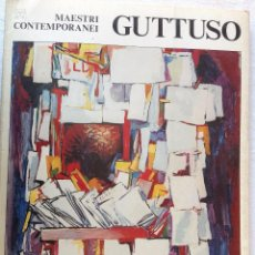 Libros de segunda mano: MAESTRO CONTEMPORANEI (1976). A ELEGIR ENTRE ESTOS LIBRETOS: TRECCANI, MUCCHI, GUTTUSO.. Lote 190292170