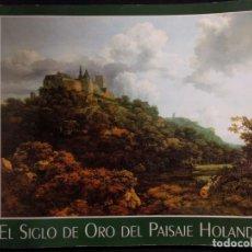 Libros de segunda mano: EL SIGLO DE ORO DEL PAISAJE HOLANDÉS. PETER C. SUTTON. 1995. THYSSEN-BORNEMIZA.. Lote 190707925