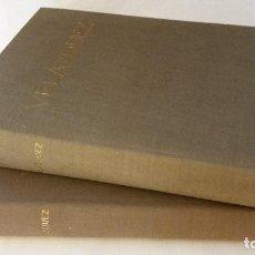 Libros de segunda mano: 1964 - JOSÉ CAMÓN AZNAR - VELÁZQUEZ - 2 TOMOS, COMPLETO. Lote 190736901