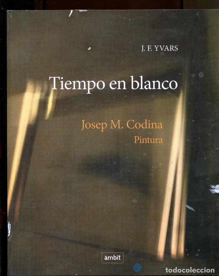 J.F. YVARS. JOSEP M. CODINA. PINTURA TIEMPO EN BLANCO. ED. AMBIT 2010. COLOR (Libros de Segunda Mano - Bellas artes, ocio y coleccionismo - Pintura)