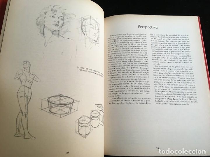 Libros de segunda mano: DIBUJO TRIDIMENSIONAL - ANDREW LOOMIS - HACHETTE - MUY ILUSTRADO - RARO EN COMERCIO - Foto 6 - 191113501