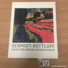 Libros de segunda mano: SCHMIDT-ROTTLUFF: COLECCIÓN BRUCKE-MUSEUM BERLIN. Lote 191117172