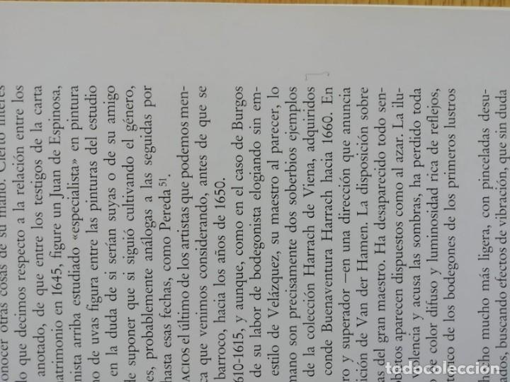 Libros de segunda mano: Pintura española de bodegones y floreros de 1600 a Goya. Catálogo - Foto 2 - 191143461