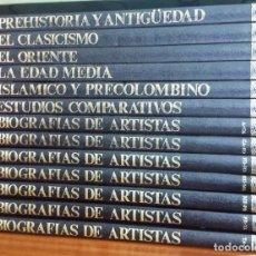 Libros de segunda mano: HISTORIA UNIVERSAL DEL ARTE. EDITORIAL SARPE. AÑOS 80. 13 7OMOS.. Lote 191214650