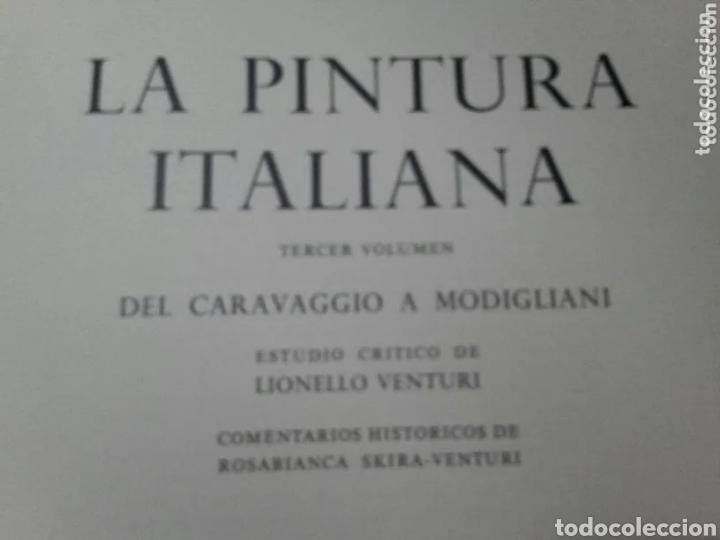 Libros de segunda mano: LA PINTURA ITALIANA ( SKIRA (TOMO 3). DEL CARAVAGGIO A MODIGLIANI - Foto 4 - 191325832