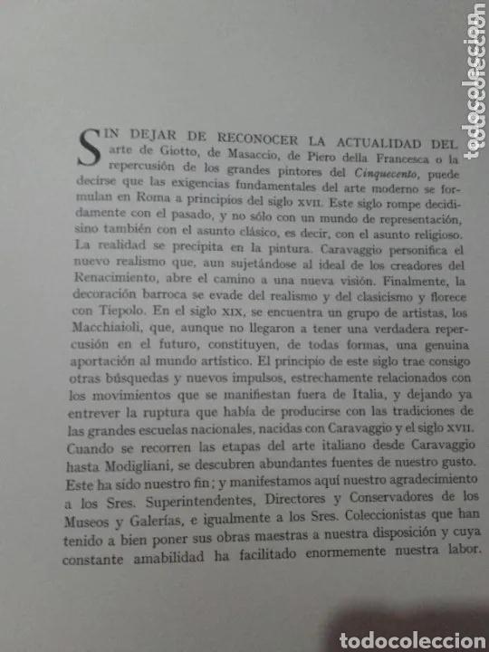 Libros de segunda mano: LA PINTURA ITALIANA ( SKIRA (TOMO 3). DEL CARAVAGGIO A MODIGLIANI - Foto 5 - 191325832