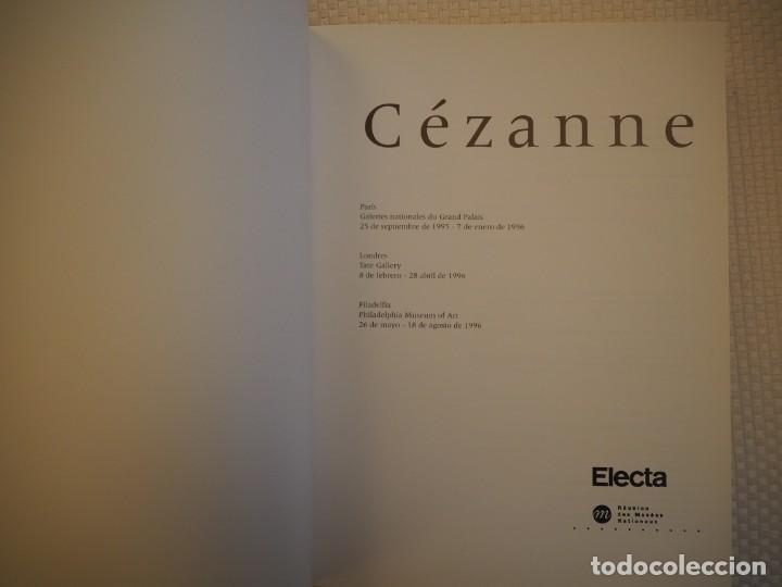 Libros de segunda mano: Cézanne. Catálogo Razonado 1995. Exposiciones París, Londres y Filadelfia.1ª ed.Español.Raro. Electa - Foto 4 - 191357095