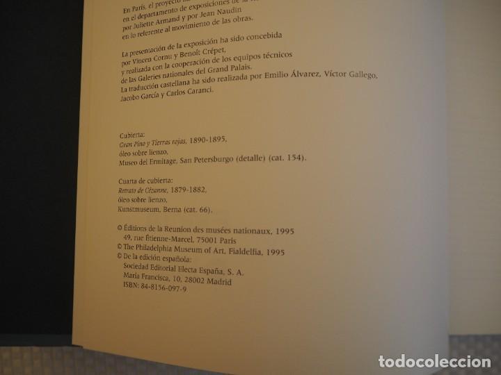 Libros de segunda mano: Cézanne. Catálogo Razonado 1995. Exposiciones París, Londres y Filadelfia.1ª ed.Español.Raro. Electa - Foto 6 - 191357095