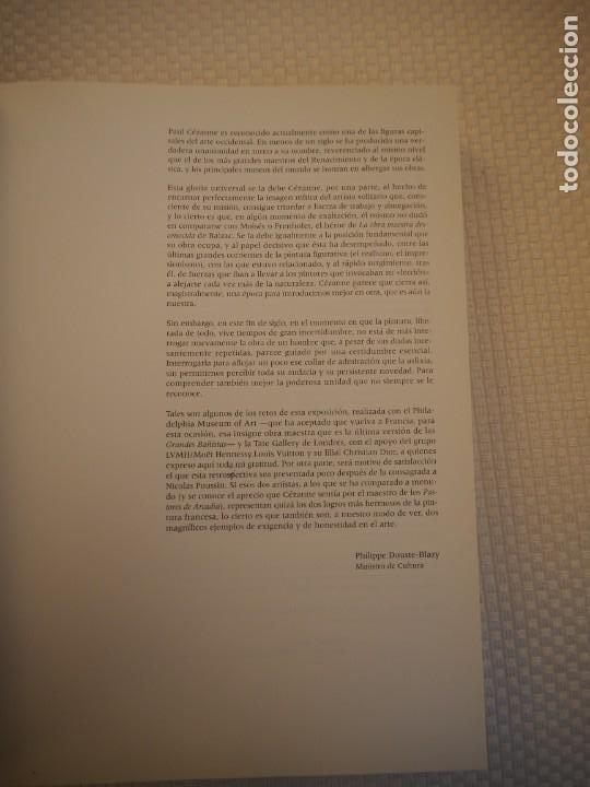 Libros de segunda mano: Cézanne. Catálogo Razonado 1995. Exposiciones París, Londres y Filadelfia.1ª ed.Español.Raro. Electa - Foto 8 - 191357095