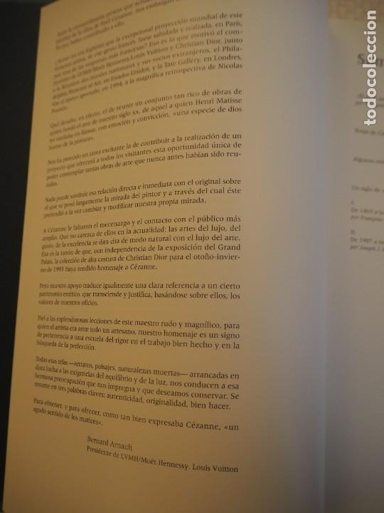 Libros de segunda mano: Cézanne. Catálogo Razonado 1995. Exposiciones París, Londres y Filadelfia.1ª ed.Español.Raro. Electa - Foto 9 - 191357095