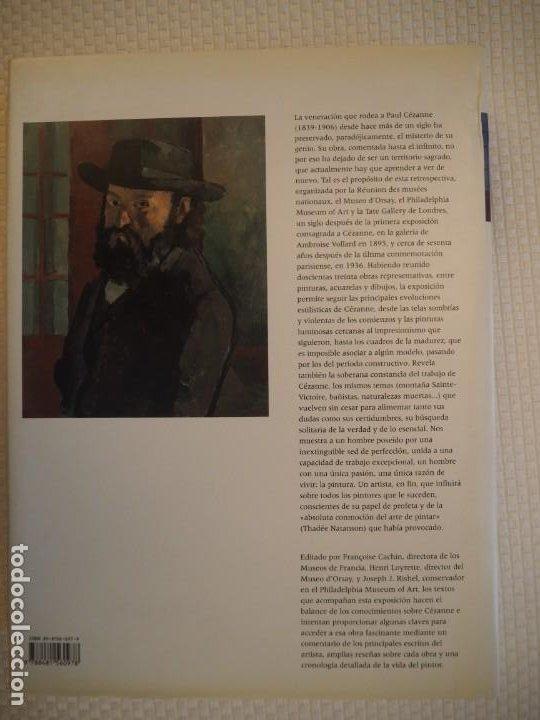 Libros de segunda mano: Cézanne. Catálogo Razonado 1995. Exposiciones París, Londres y Filadelfia.1ª ed.Español.Raro. Electa - Foto 12 - 191357095