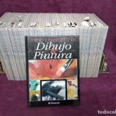 Libros de segunda mano: CURSO COMPLETO DE DIBUJO Y PINTURA, 53 TOMOS, PARRAMÓN - PLANETA, BARCELONA, 1987. Lote 191502001