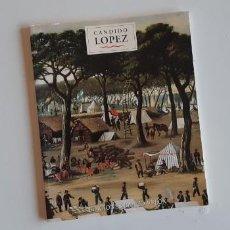 Libros de segunda mano: CANDIDO LOPEZ. PROYECTO CULTURAL LOS COLEGIOS Y ARTE. BANCO VELOX 1999. Lote 191507485