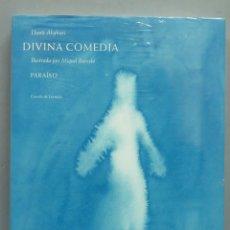 Libros de segunda mano: DIVINA COMEDIA. PARAISO. DANTE ALIGHIERI. ILUSTRADO POR MIQUEL PARCELO. PRECINTADO. Lote 191651448