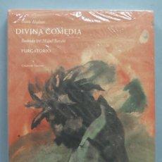 Libros de segunda mano: DIVINA COMEDIA. PURGATORIO. DANTE ALIGHIERI. ILUSTRADO POR MIQUEL PARCELO. Lote 191651478