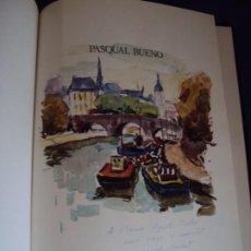 Libros de segunda mano: (LI-200101)MONOGRAFIA PASCUAL BUENO - DIBUJO Y DEDICATORIA ORIGINAL. Lote 191679011