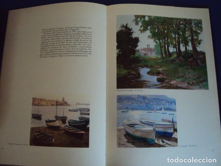 Libros de segunda mano: (LI-200101)MONOGRAFIA PASCUAL BUENO - DIBUJO Y DEDICATORIA ORIGINAL - Foto 5 - 191679011