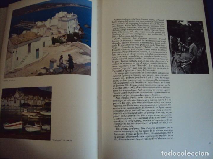 Libros de segunda mano: (LI-200101)MONOGRAFIA PASCUAL BUENO - DIBUJO Y DEDICATORIA ORIGINAL - Foto 6 - 191679011