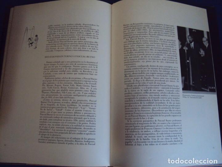 Libros de segunda mano: (LI-200101)MONOGRAFIA PASCUAL BUENO - DIBUJO Y DEDICATORIA ORIGINAL - Foto 7 - 191679011