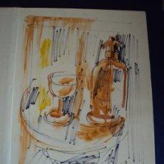 Libros de segunda mano: (LI-200103)AMADEU CASALS- HOMENATGE A RUSIÑOL - DIBUJO Y DEDICATORIA ORIGINAL. Lote 191679712