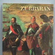 Libros de segunda mano: ZURBARÁN. MUSEO DEL PRADO. Lote 191698463