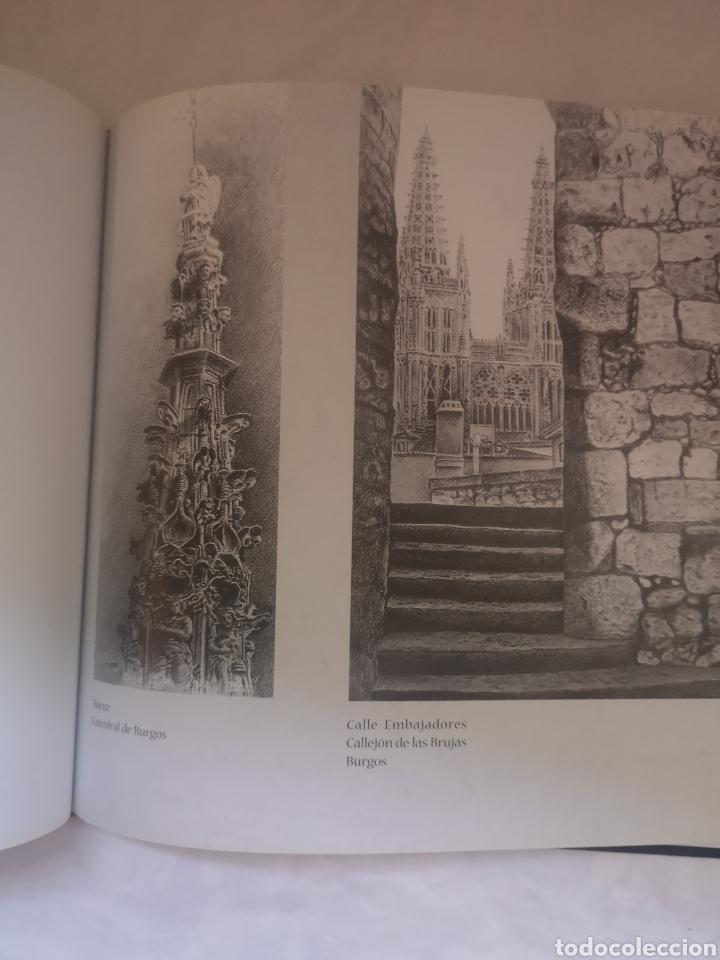 Libros de segunda mano: Os camiños de Santiago - José Luis Nogueira Rodríguez - Dibujos en blanco y negro - Foto 4 - 191927751