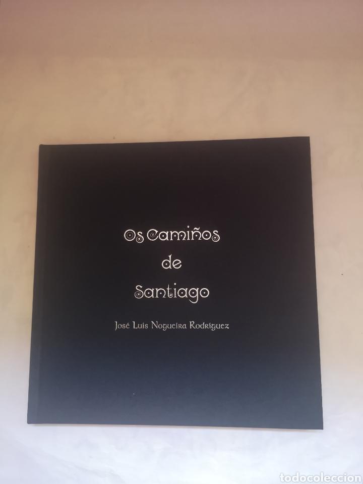 Libros de segunda mano: Os camiños de Santiago - José Luis Nogueira Rodríguez - Dibujos en blanco y negro - Foto 2 - 191927751