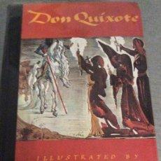 Libros de segunda mano: DON QUIXOTE ILLUSTRATED BY SALVADOR DALI 1979. Lote 192076772
