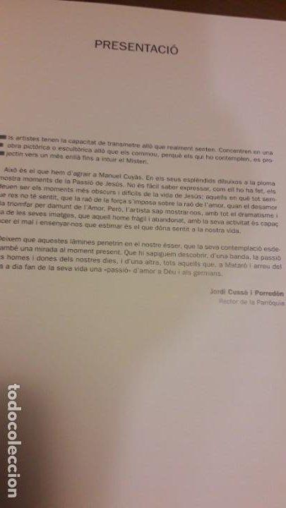 Libros de segunda mano: ESCENES DE LA PASSIÓ (20) / MANUEL CUYÀS I DURAN / PARRÒQUIA SANT JOSEP / 1ª ED. 2006 / EN CATALÀ - Foto 6 - 80284673