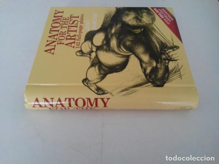 Libros de segunda mano: Anatomy for the artist. Anatomía para artistas - Foto 7 - 192860156