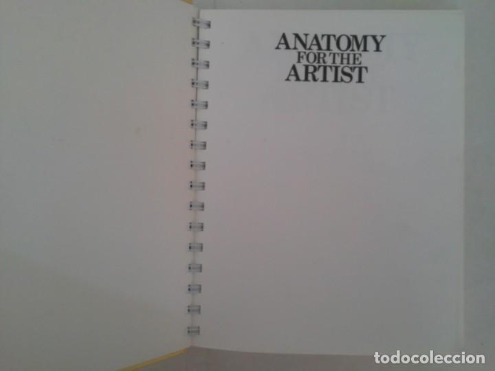 Libros de segunda mano: Anatomy for the artist. Anatomía para artistas - Foto 8 - 192860156
