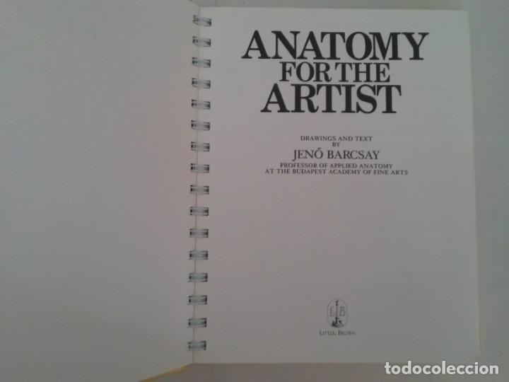 Libros de segunda mano: Anatomy for the artist. Anatomía para artistas - Foto 9 - 192860156