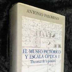 Libros de segunda mano: EL MUSEO PICTÓRICO Y ESCALA ÓPTICA I - THEORICA DE LA PINTURA - ANTONIO PALOMINO - AGUILAR. Lote 193747017