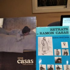 Libros de segunda mano: RAMON CASAS-LOTE DE 2 LIBROS-RETRATS DE RAMON CASAS Y CASAS PINTOR DEL MODERNISMO-IMPECABLES. Lote 193924207