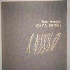 Libros de segunda mano: FRANCISCO GUTIERREZ DE COSSIO POR JUAN ANTONIO GAYA NUÑO.IBERICO EUROPEA DE EDICIONES 1973. Lote 193956010