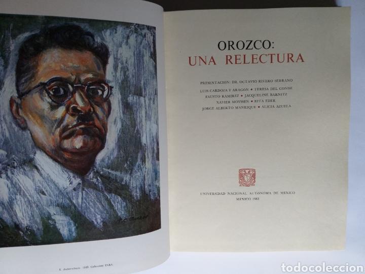 Libros de segunda mano: Orozco . Una relectura . Octavio Rivero Serrano . Edición 1983 . Pintura primera mitad - Foto 9 - 194059962