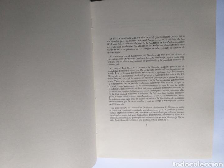 Libros de segunda mano: Orozco . Una relectura . Octavio Rivero Serrano . Edición 1983 . Pintura primera mitad - Foto 11 - 194059962