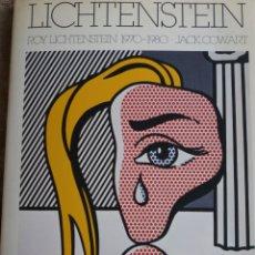 Libros de segunda mano: MONOGRAFÍA ROY LICHTENSTEIN 1982. Lote 194136023