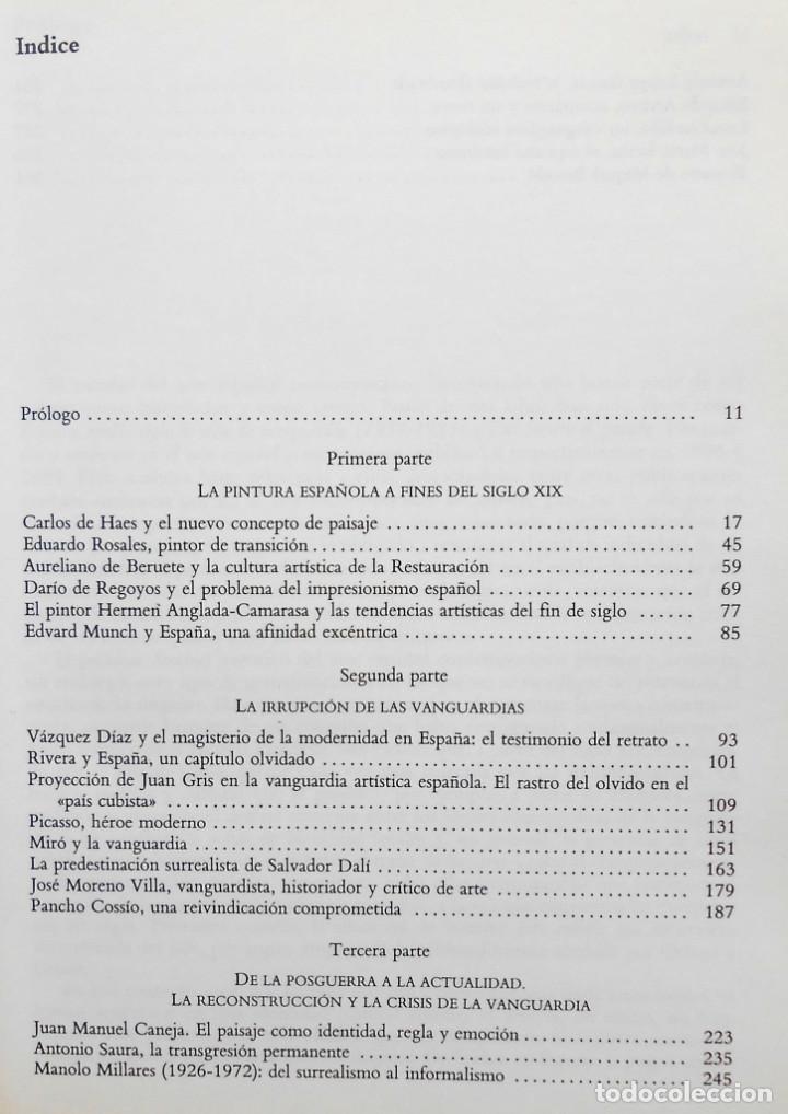 Libros de segunda mano: PINTORES ESPAÑOLES ENTRE DOS FINES DE SIGLO (1880-1990) - FRANCISCO CALVO SERRALLER ED. ALIANZA - Foto 4 - 194221030