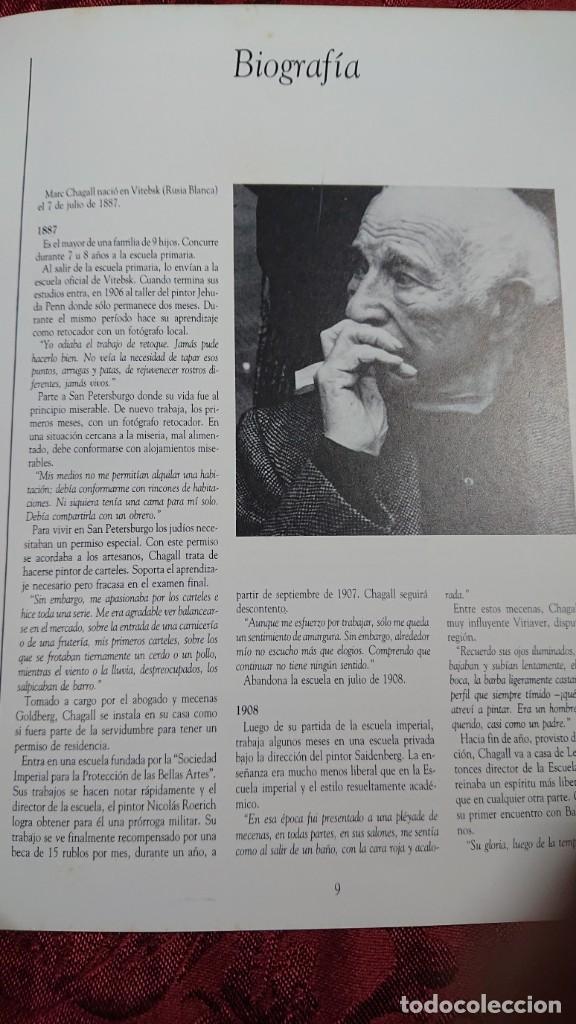 Libros de segunda mano: MARC CHAGALL 112 OBRAS DE LA DACION EXPOSICION NACIONAL BELLAS ARTES BUENOS AIRES ARGENTINA 1989 - Foto 8 - 194239313